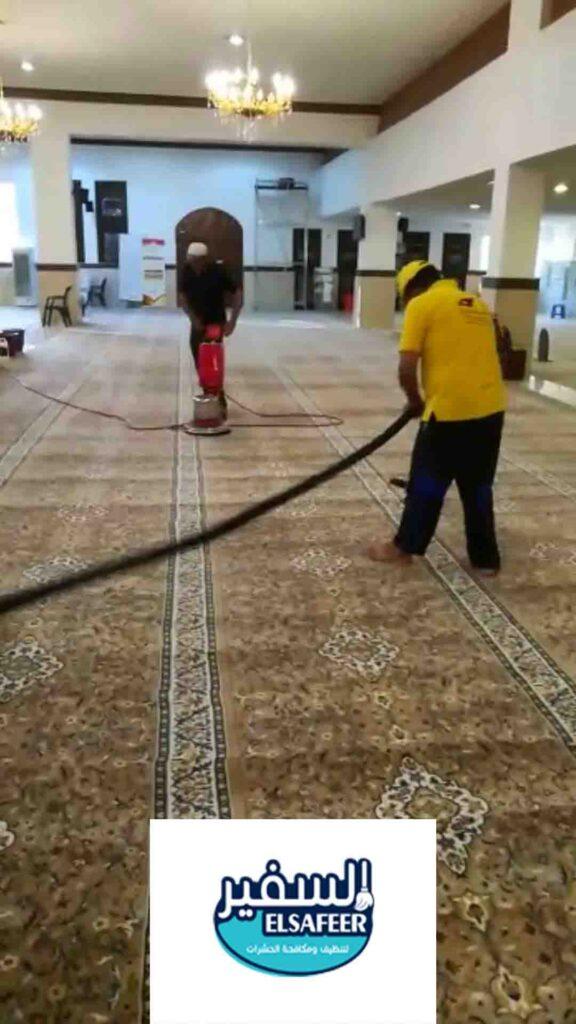 شركة تنظيف فرش المساجد بالرياض